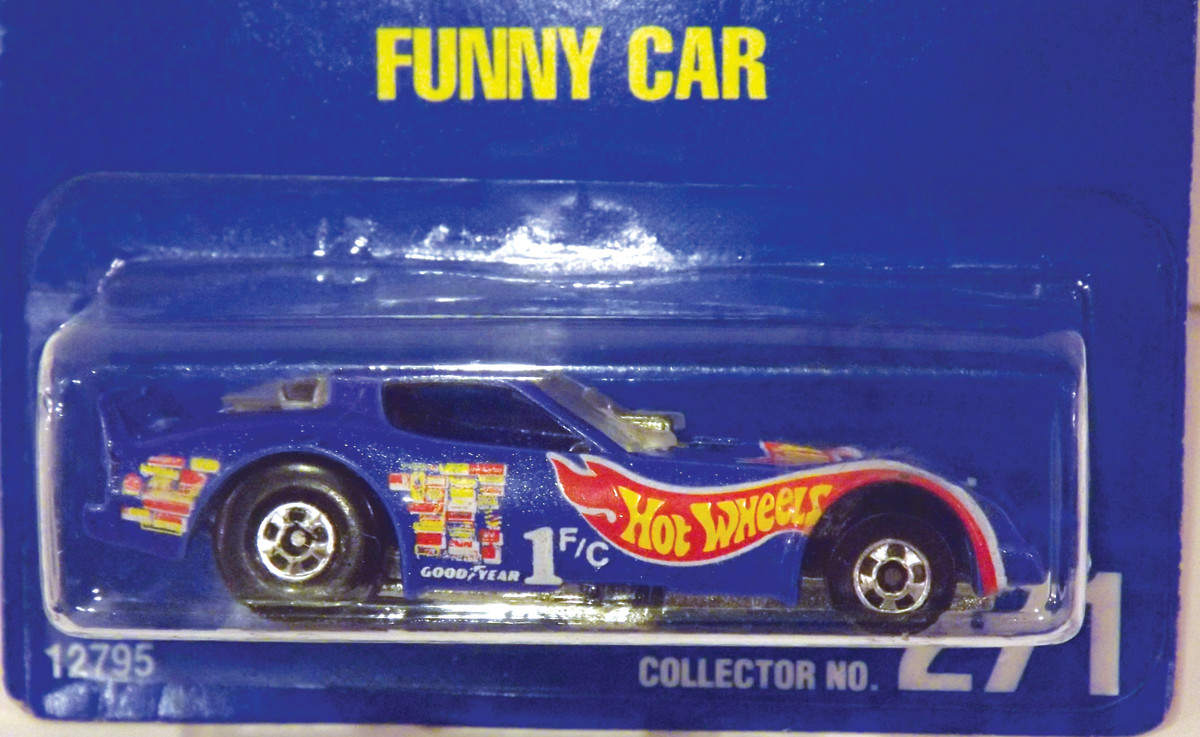 Collector Number 271 Funny Car, 1995.