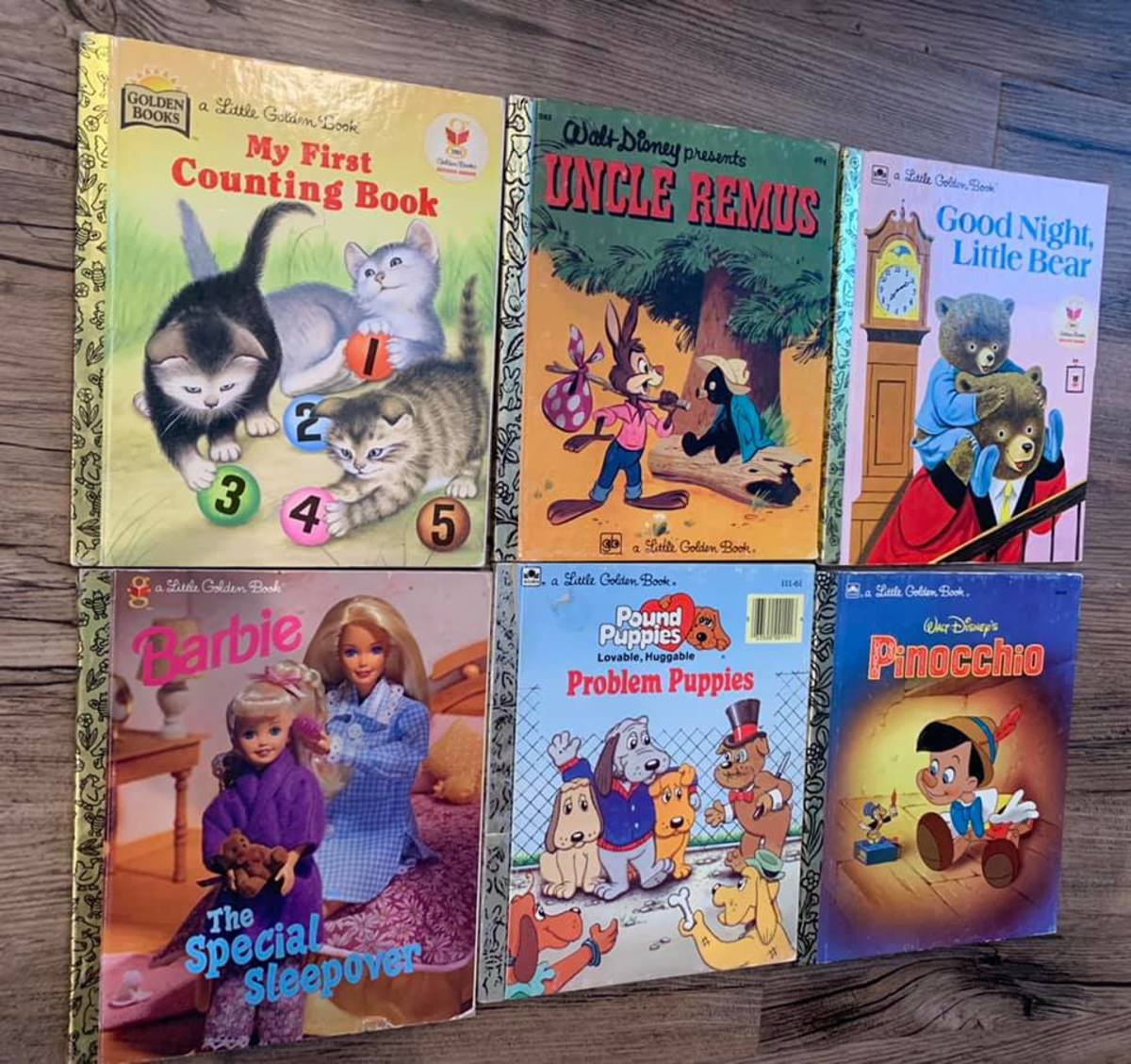 Little Golden Books are also popular with Rockwell'scustomers because of the nostalgia factor.
