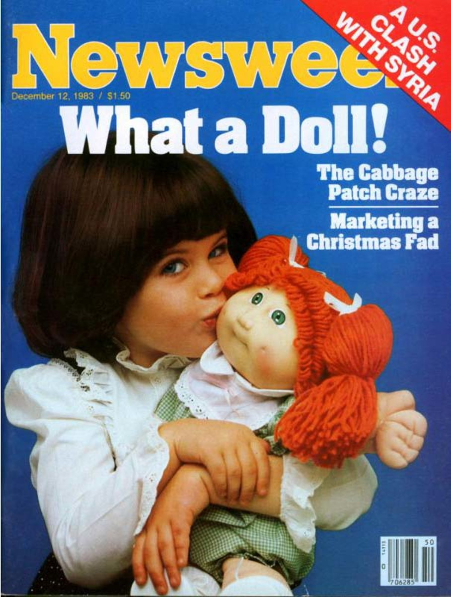 When Cabbage Patch Kids made their debut in 1983 they became the most popular toy fad of the year, and one of the most popular in all of the '80s. The dolls made the cover of Newsweek before Christmas, and stories of their success were heralded around the world.