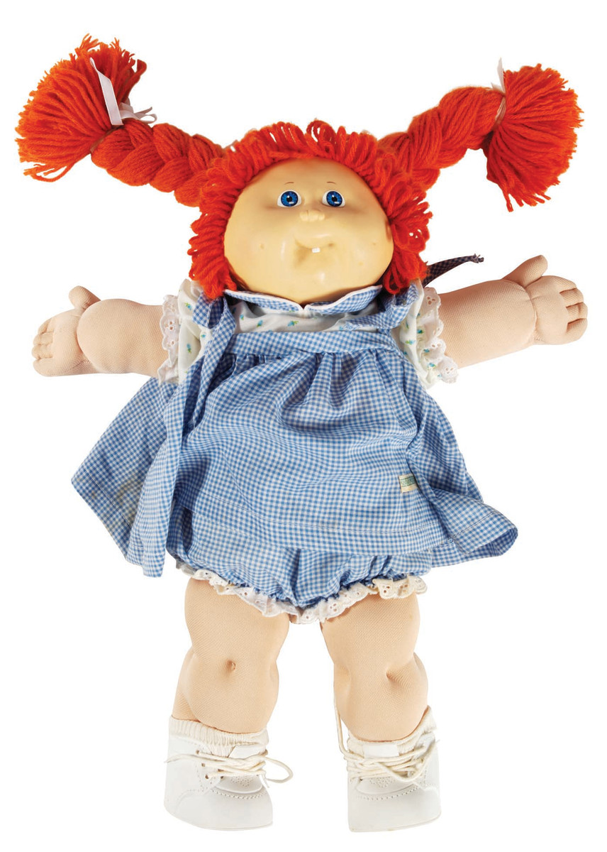 Young and old alike went wild for Cabbage Patch Kids. Police were even called into some stores to control shoppers fighting over limited supplies of the '80s phenomenon. Although retailing for $25, there were black market sales of Cabbage Patch Kids recorded as high as $2,000.