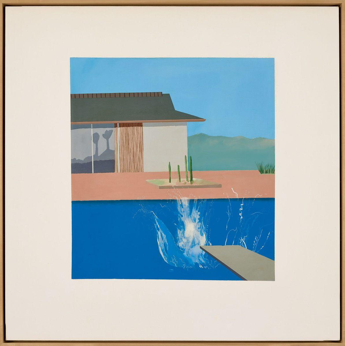 David Hockney's The Splash, $29.8 million.