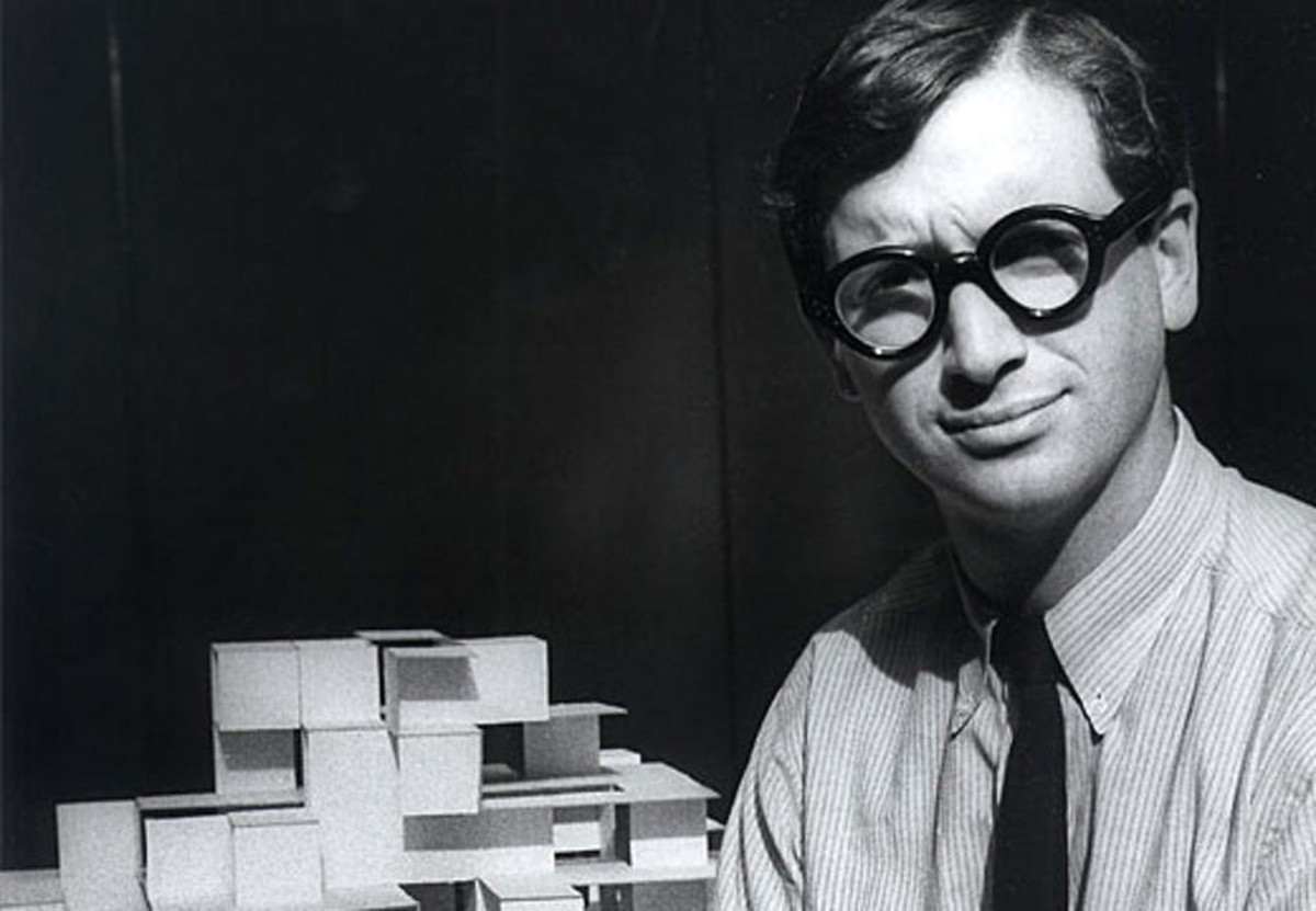 Architect and designer Michael Graves in 1962.