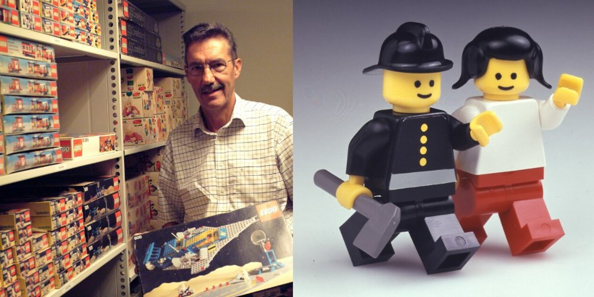 Danish LEGO designer Jens Nygaard Knudsen is responsible for creating the minifigure, one of the most beloved toys in the world.