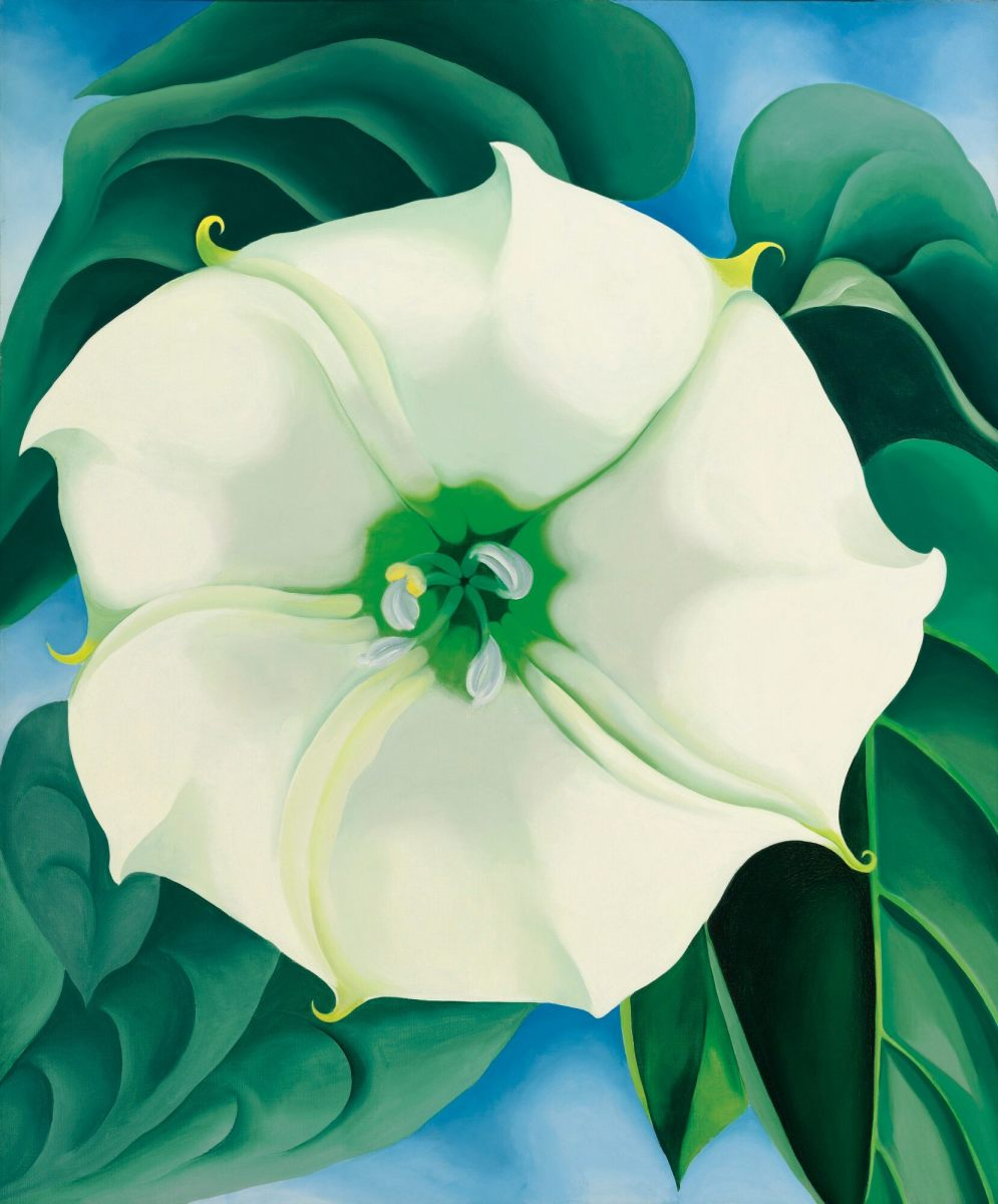 Georgia O'Keeffe holds the record for the highest price paid for a painting by a woman. Sotheby's sold her Jimson Weed/White Flower No. 1 for $44.4 million in 2014.