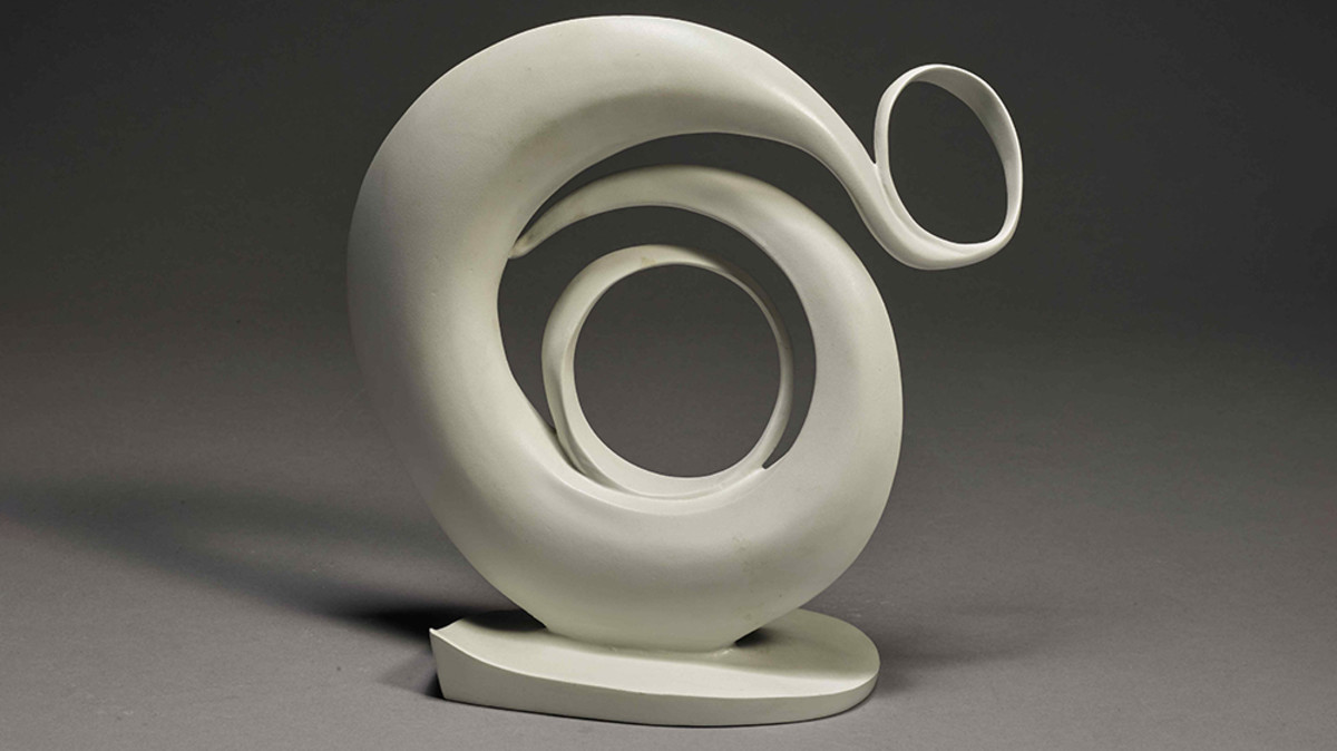 Abstraction sculpture, modeled in 1946; cast in 1979-80, sold for $668,000.