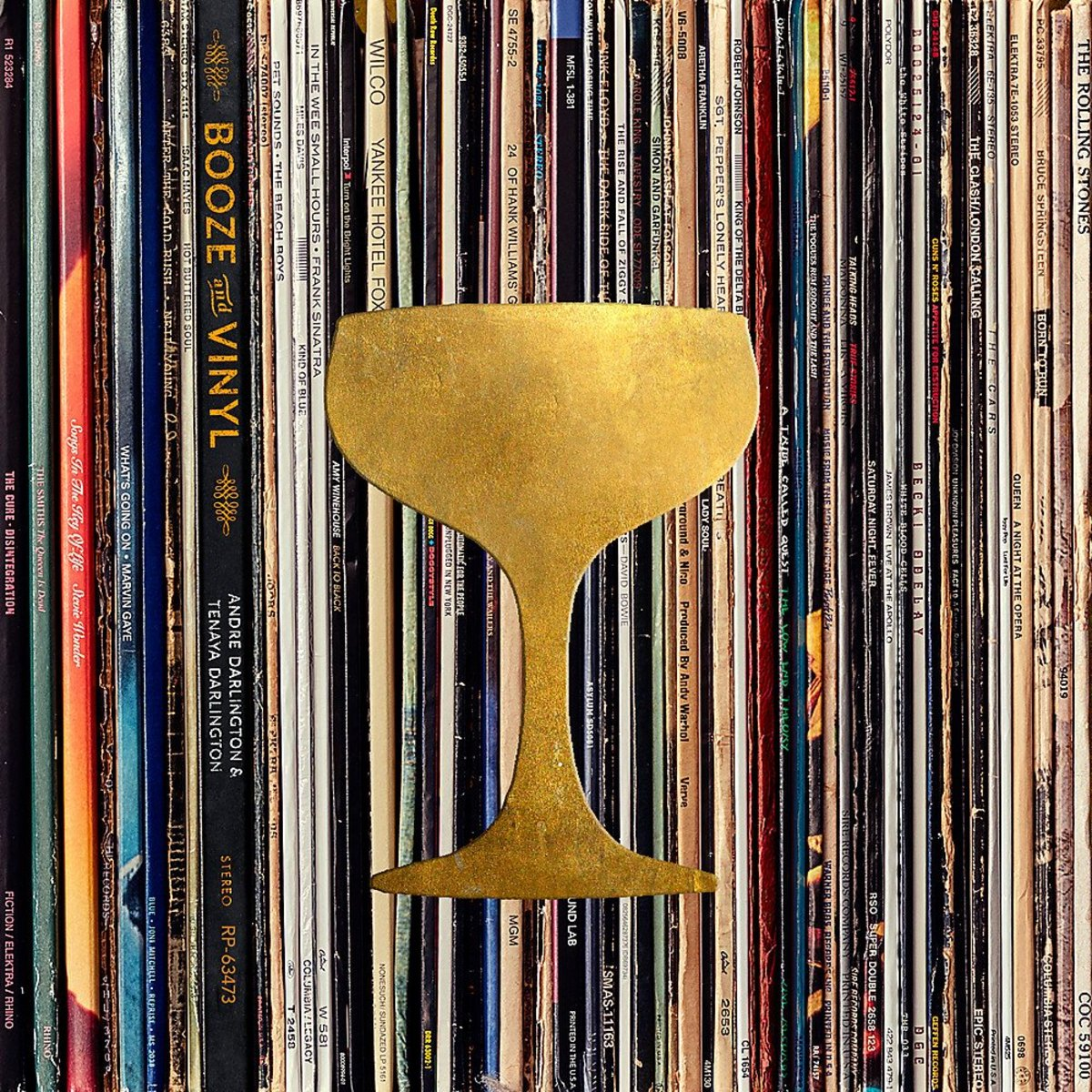 Booze and Vinyl: A Spirited Guide to Great Music and Mixed Drinks by Andre Darlington and Tenaya Darlington