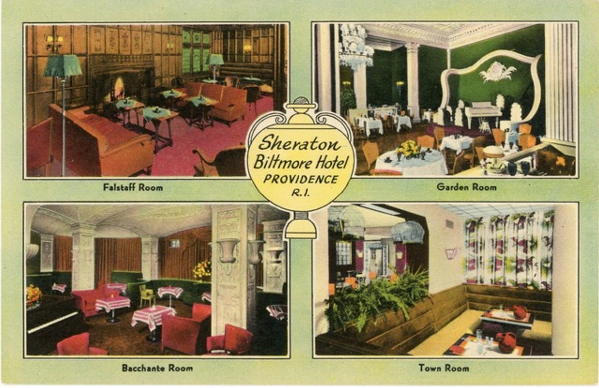 The Sheraton Biltmore Hotel in Providence, Rhode Island.