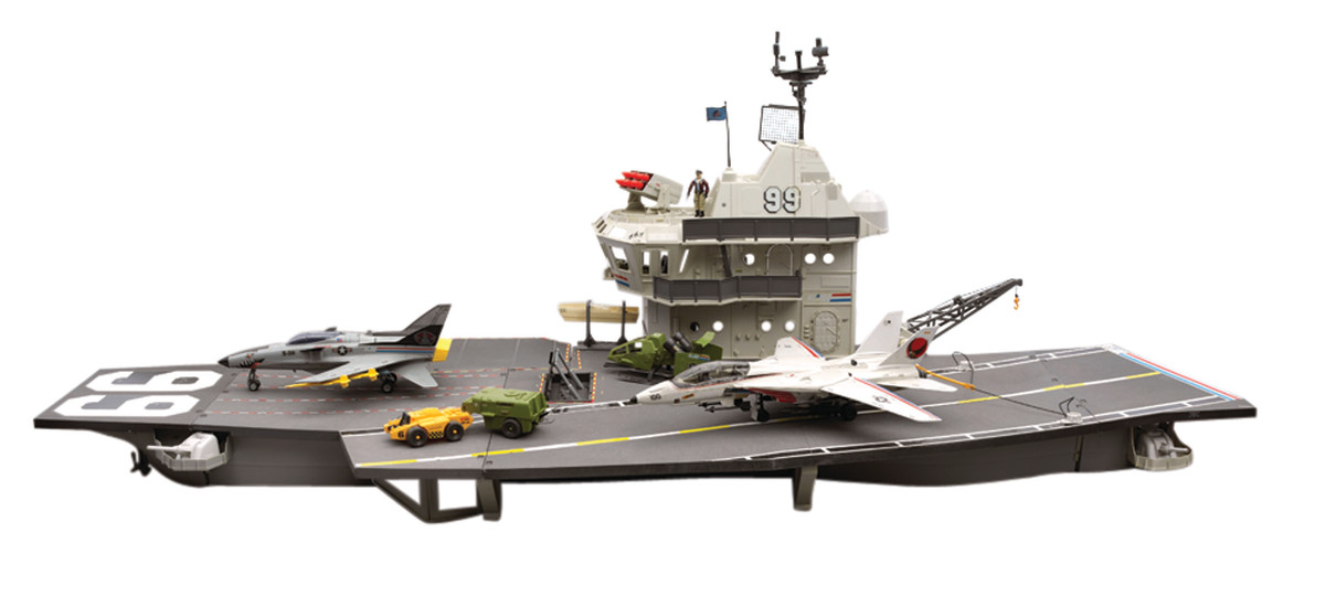 The U.S.S. Flagg (Aircraft Carrier)