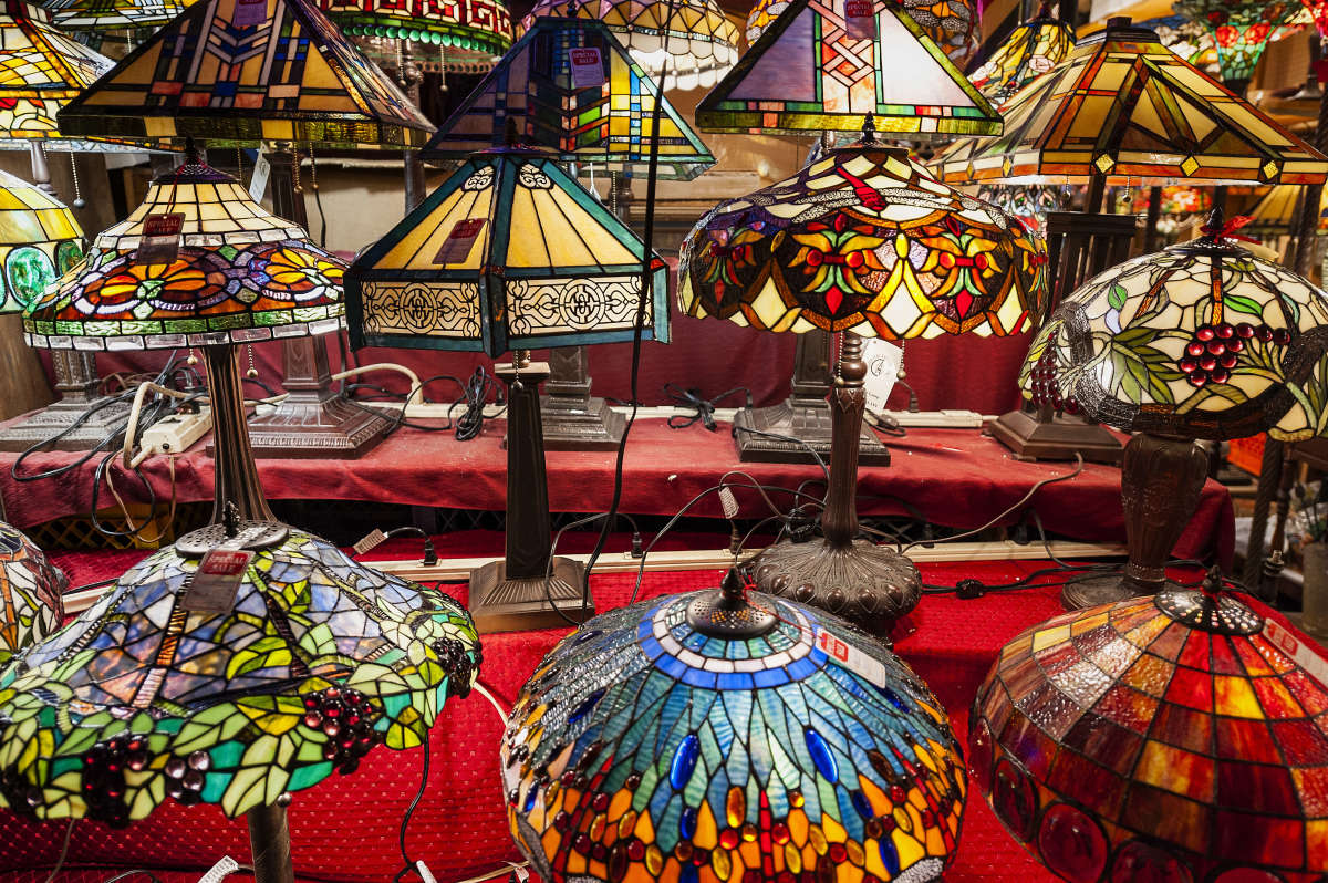 Tiffany lamps need special cleaning care and handling to keep them looking spectacular.