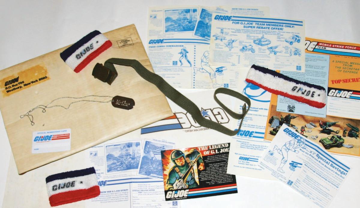 1982 G.I. Joe catalog