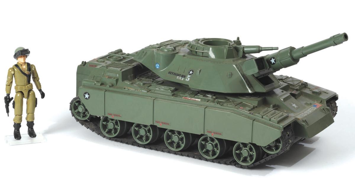 The battery-powered MOBAT (Motorized-Battle Tank), 1982