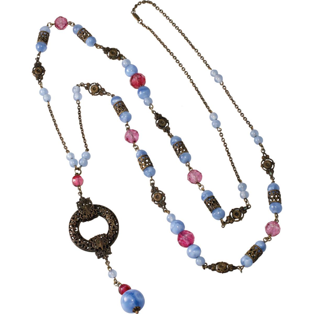 Bliss sautoir necklace, 1919-1920.