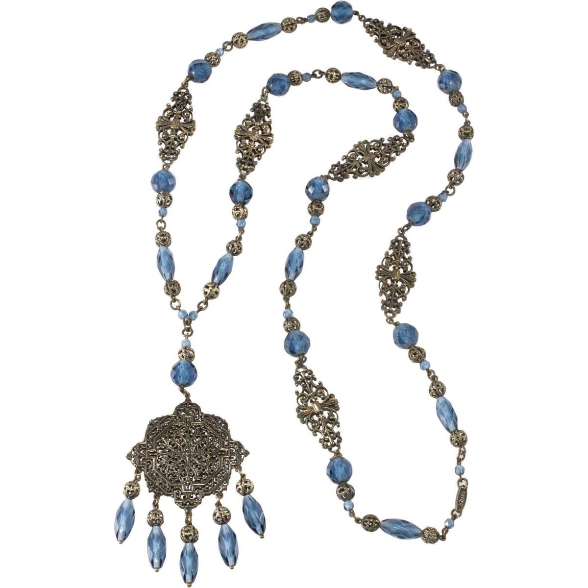 Napier sautoir necklace, early 1920s.