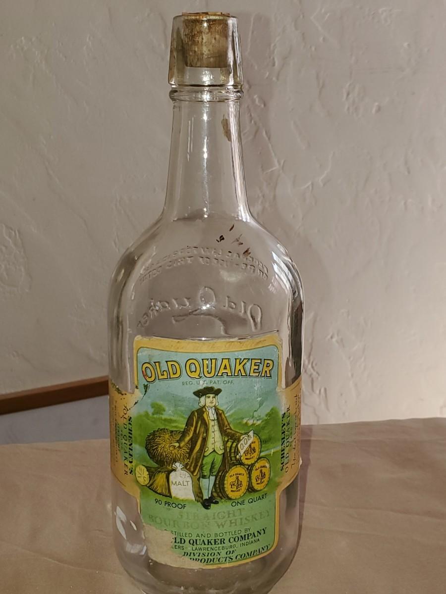 Old Quaker bottle