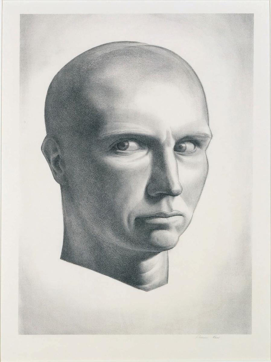 """Self Portrait,"" Rockwell Kent, 1934."