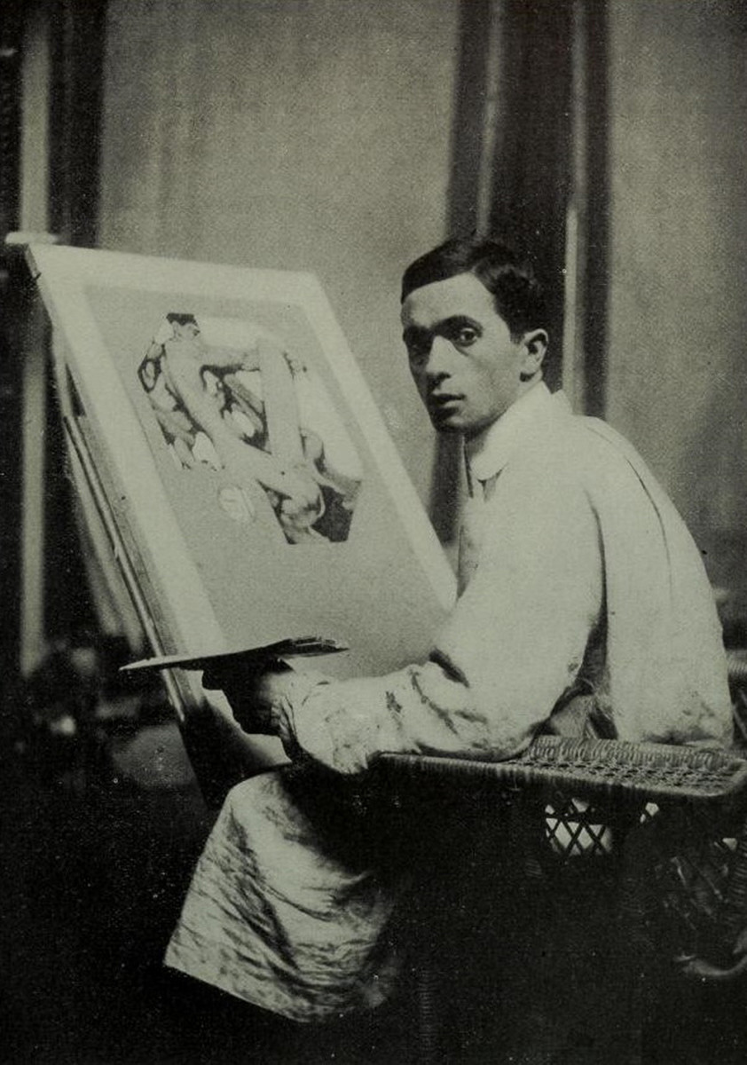 The illustrator Joseph Christian Leyendecker (1874-1951).