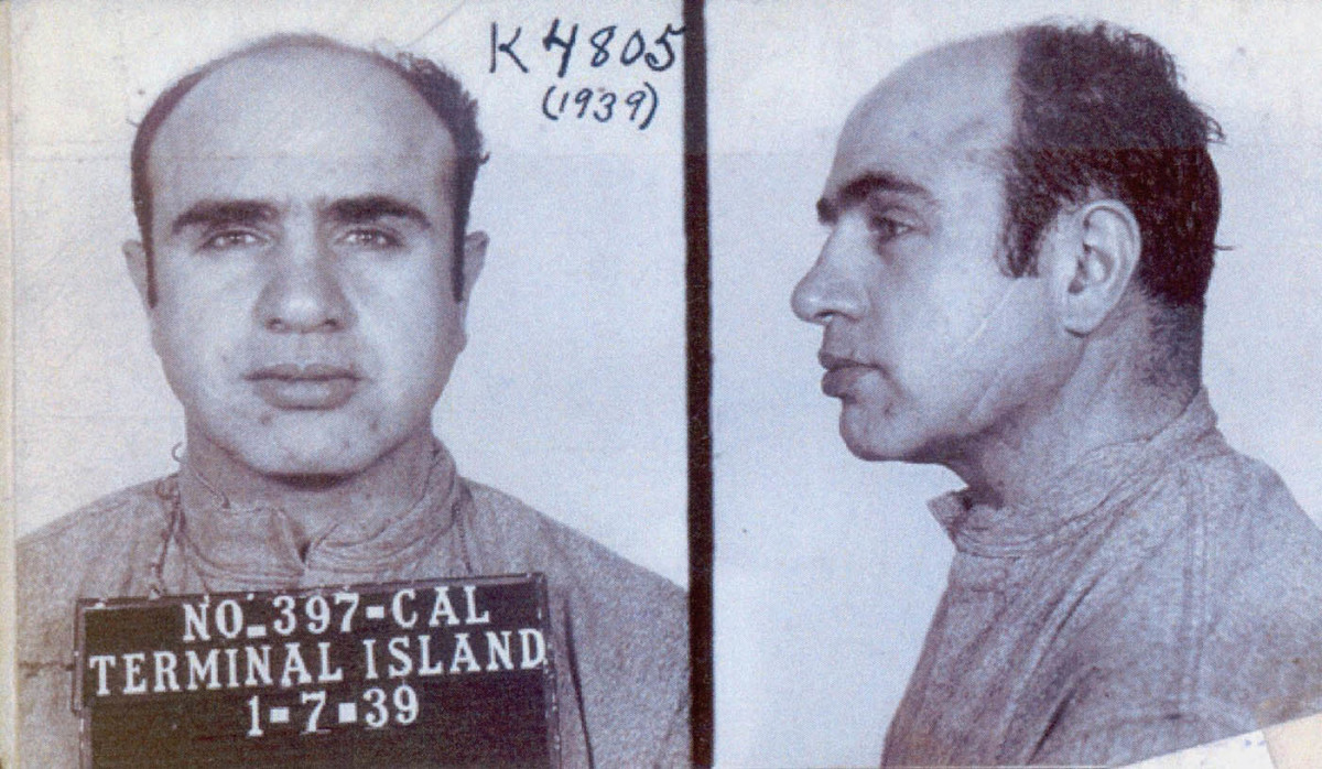 Although believed to be responsible for as many as 200 deaths, authorities could never prove Capone's guilt. Instead, Capone was sent to prison for tax evasion.