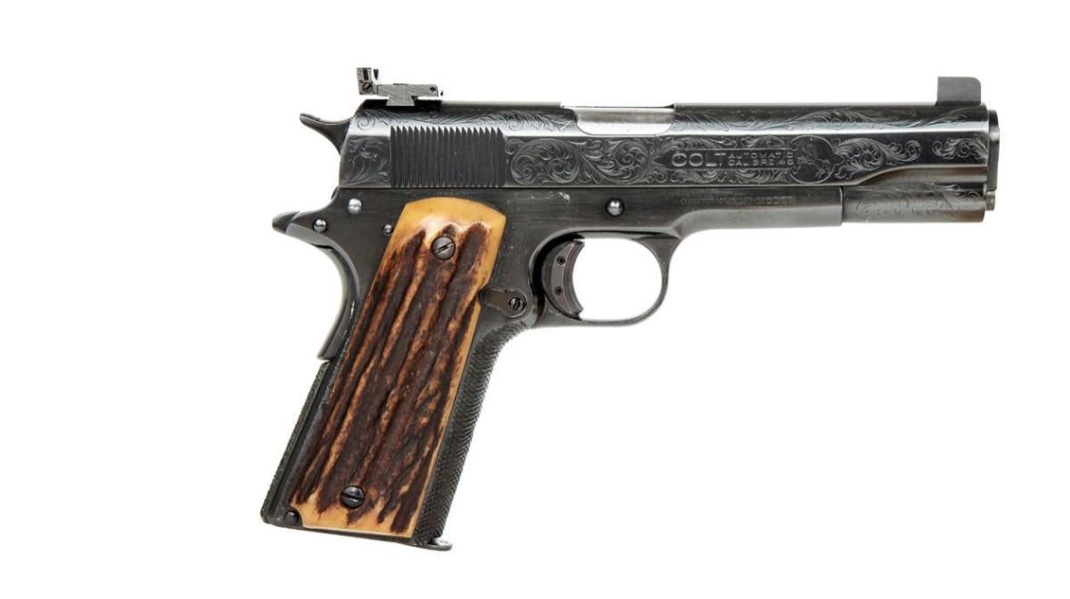 Al Capone's Colt Model 1911 pistol