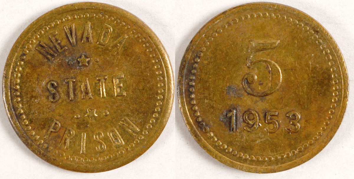 This 5-cent token sold at Holabird Americana in 2018 for $150.