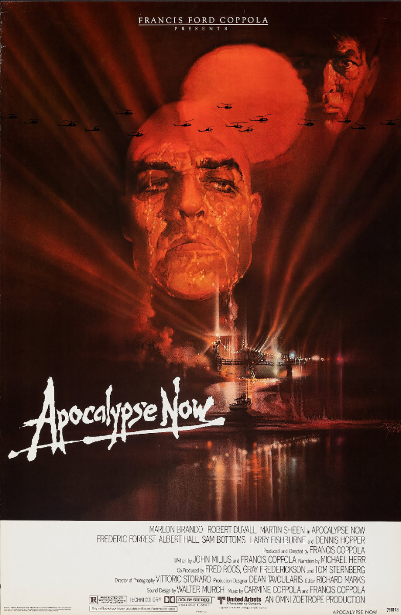Apocalypse Now (United Artists, 1979) movie poster with Robert Peak artwork. This sold at Heritage in February for $480.