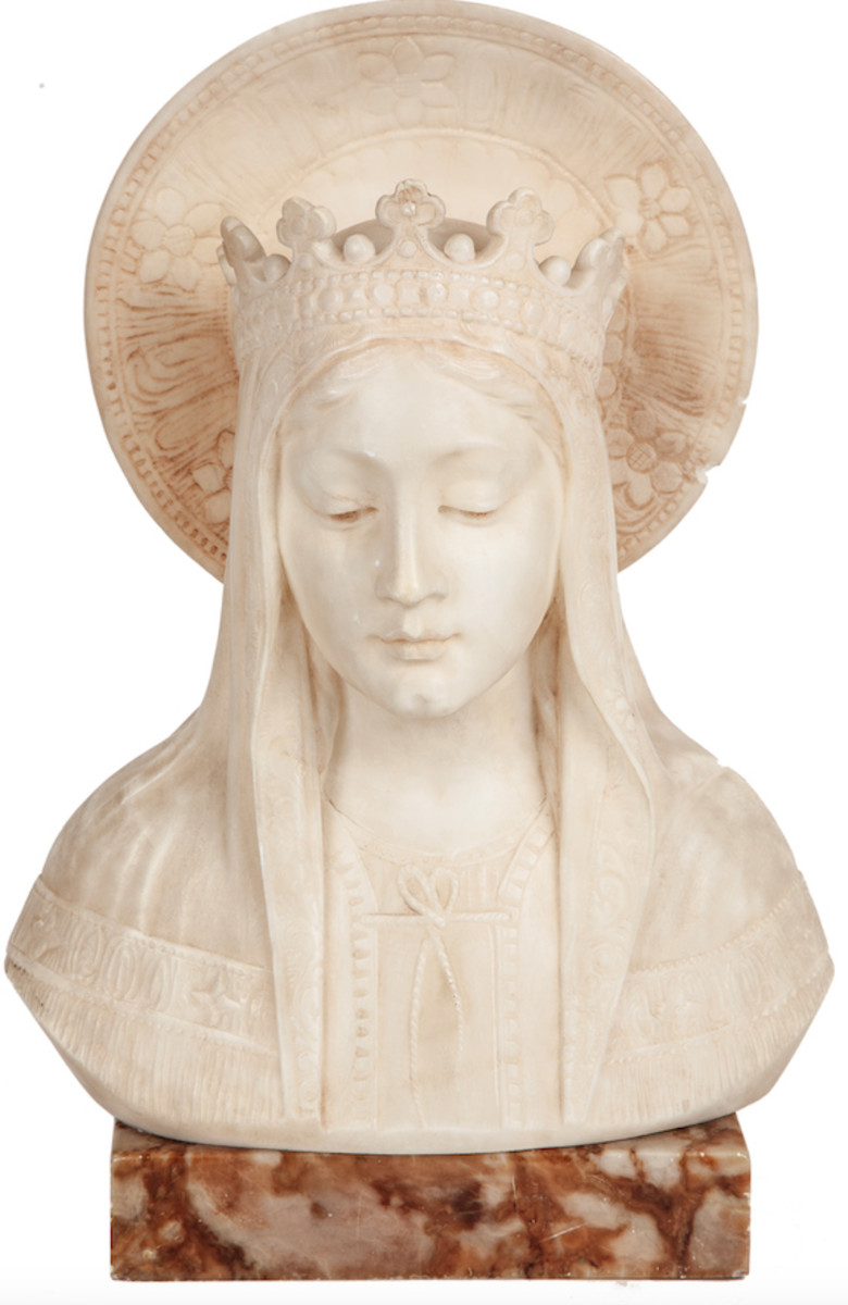 Al Capone marble Madonna