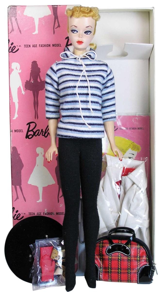 Blond Ponytail Barbie