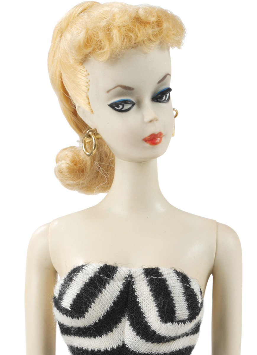 Blond Ponytail Barbie No. 1