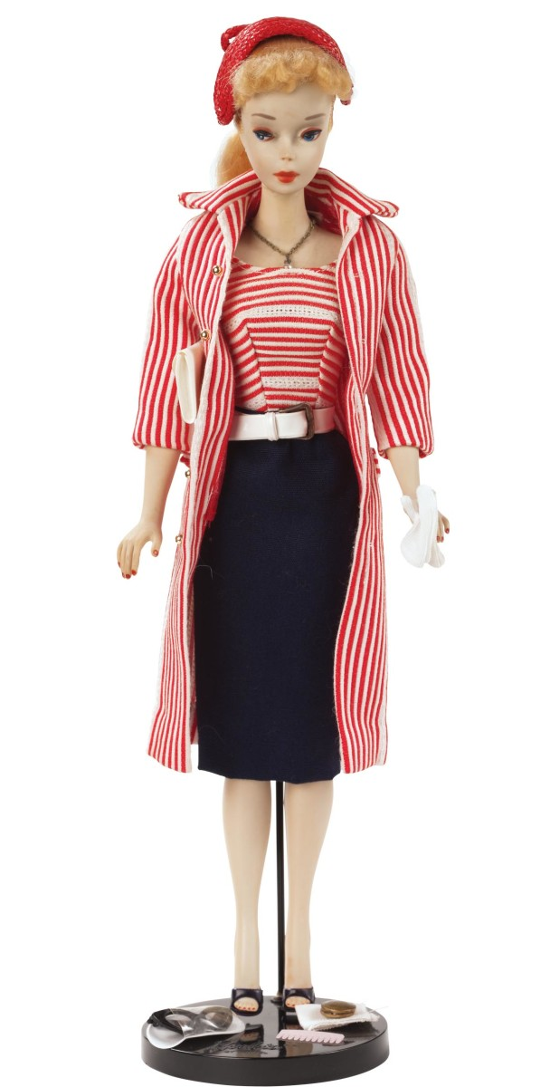 Barbie Roman Holiday fashion outfit