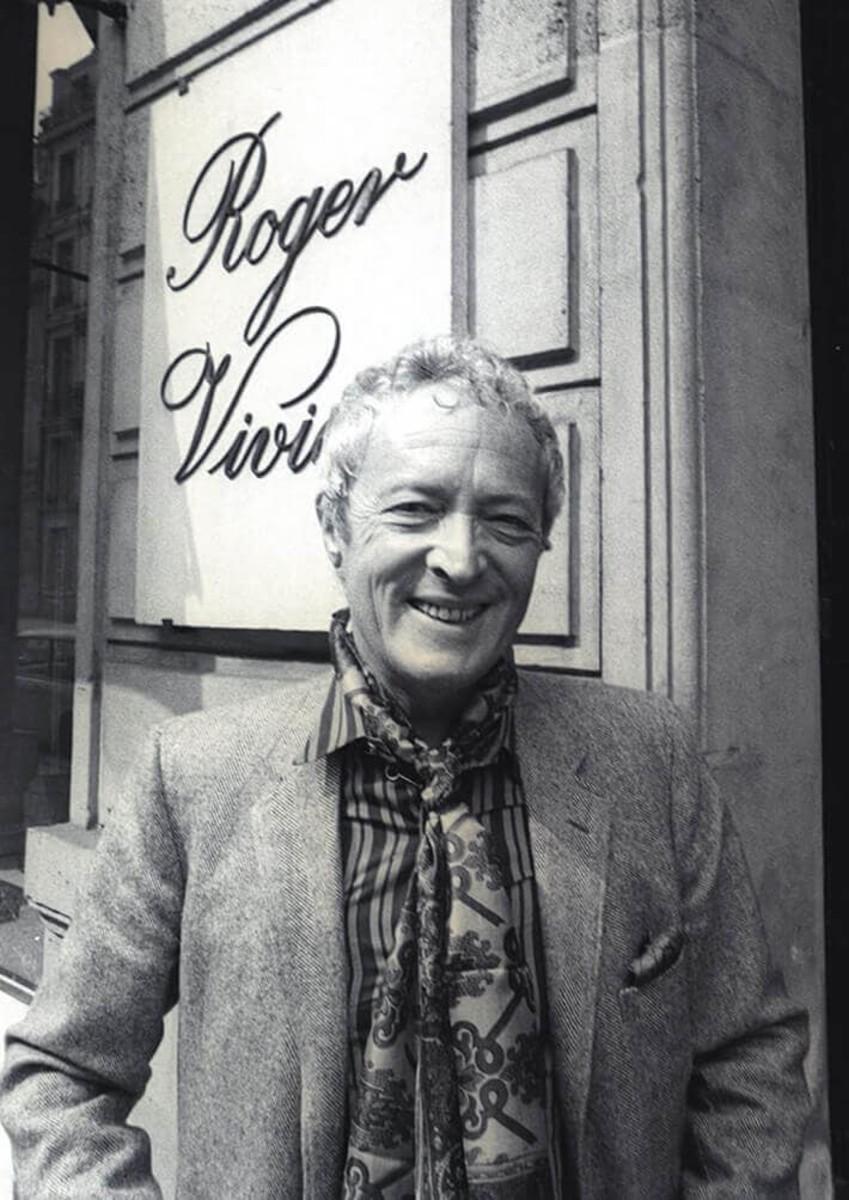 Celebrated shoe designer Roger Vivier.