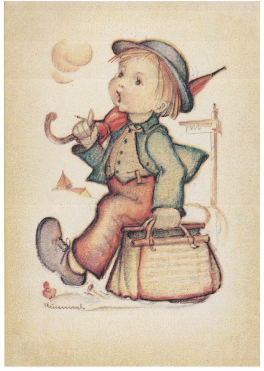 Merry Wanderer original drawing