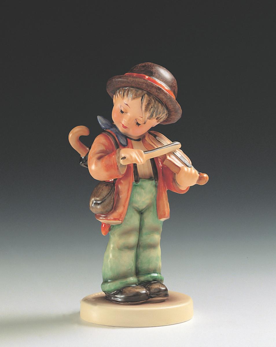 The Little Fiddler Hummel figurine