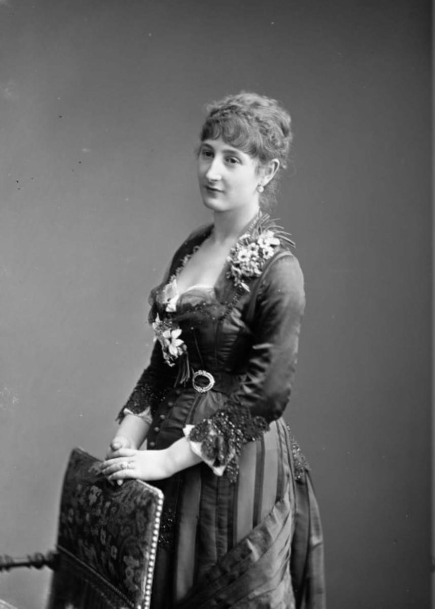 Virginie Amélie Avegno Gautreau, circa 1878.