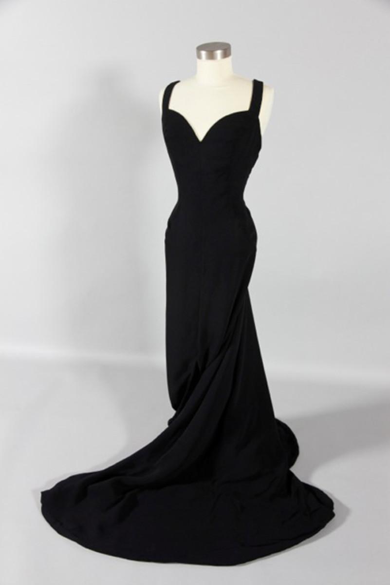Luis Estevez's 1960 interpretation of the Madame X dress.