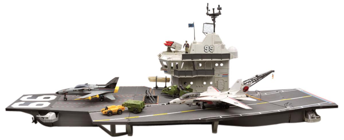 The USS Flagg Aircraft Carrier