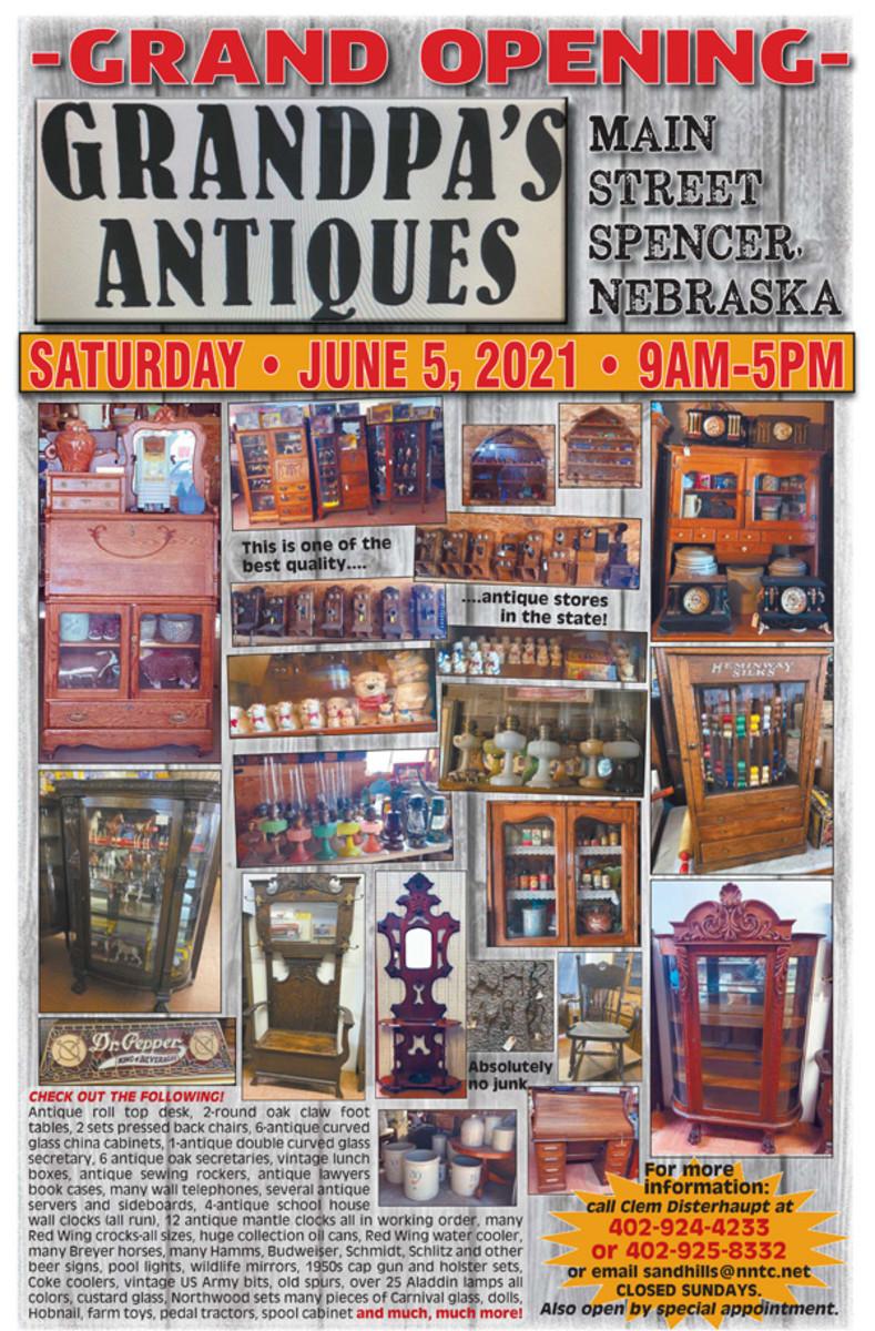 Grandpa's Antiques Grand Opening