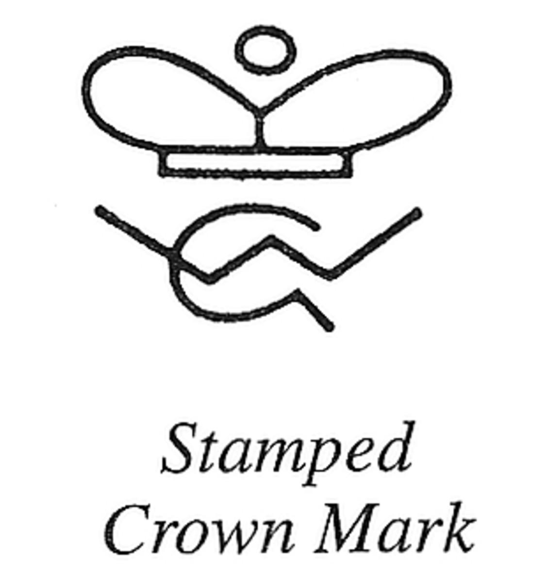 Stamped Crown Mark