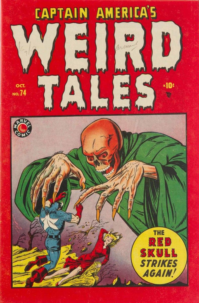 Captain America Weird Tales