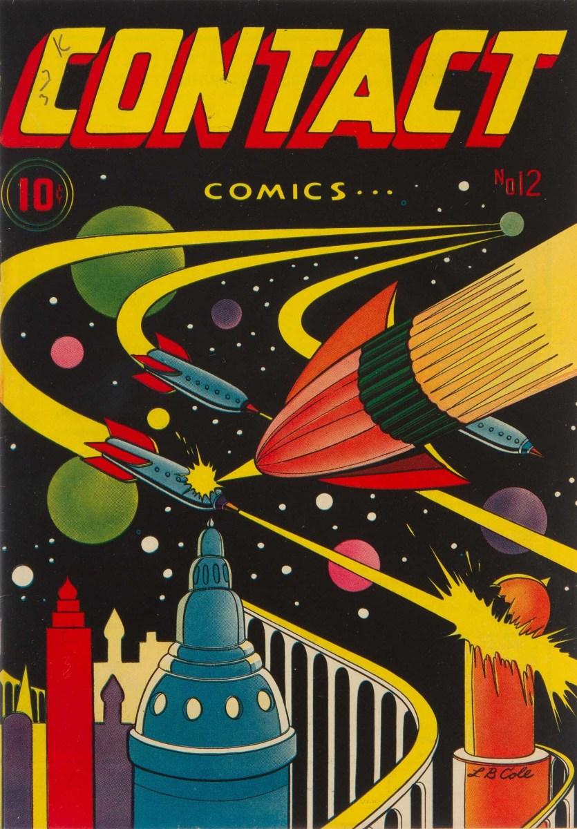 Contact Comics