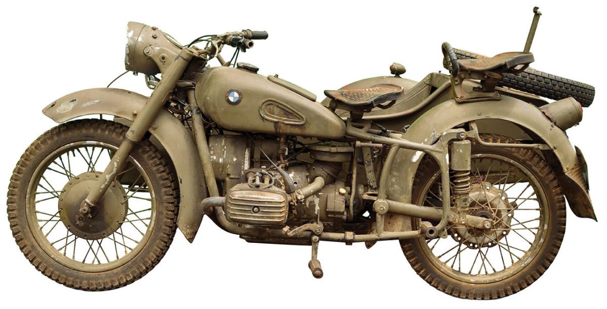 Indiana Jones' motorcycle