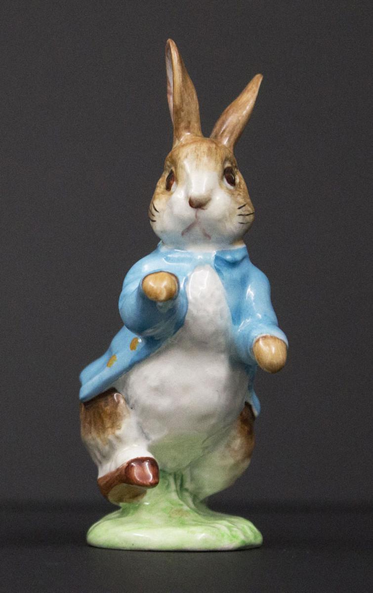 Peter Rabbit Beswick figurine, circa 1950.