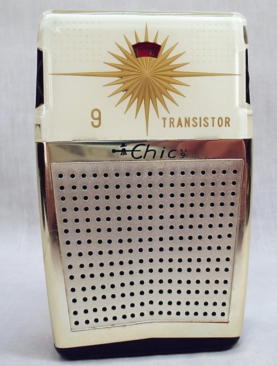 Chic KT-91 nine-transistor radio