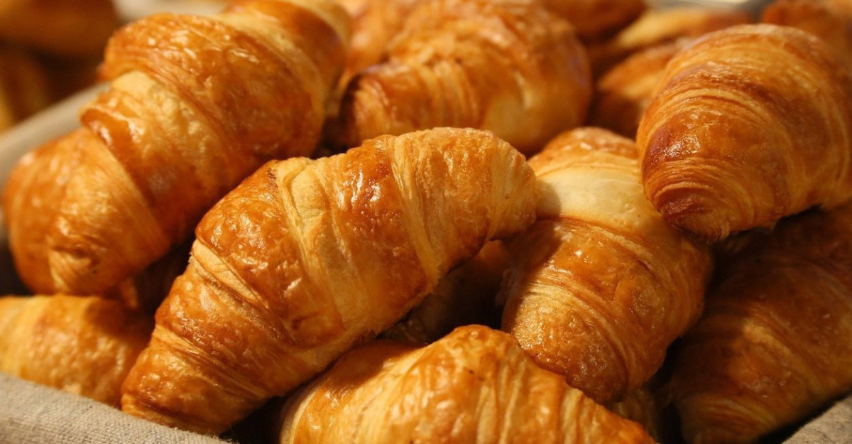 French donuts? Close. They're croissants.