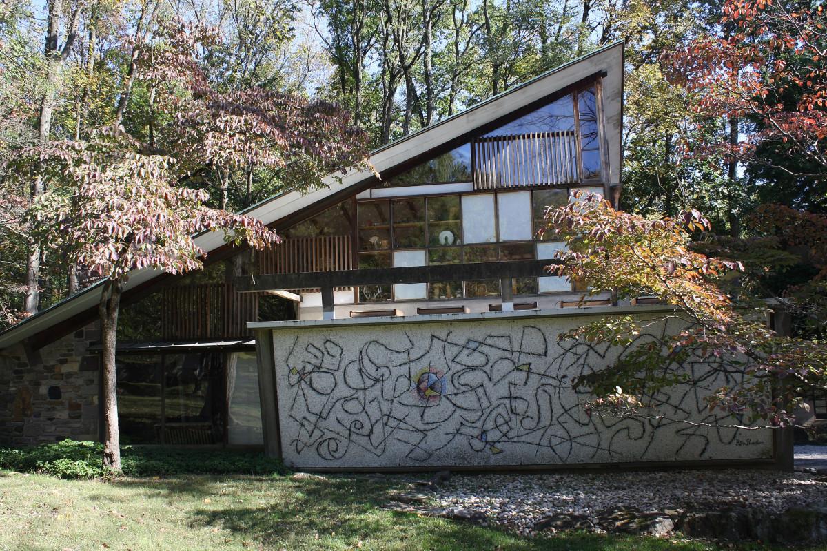 The George Nakashima House, Studio and Workshop, Arts Building.