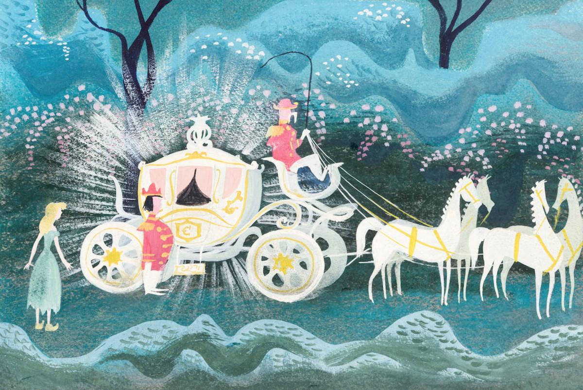 Mary Blair Cinderella Coach