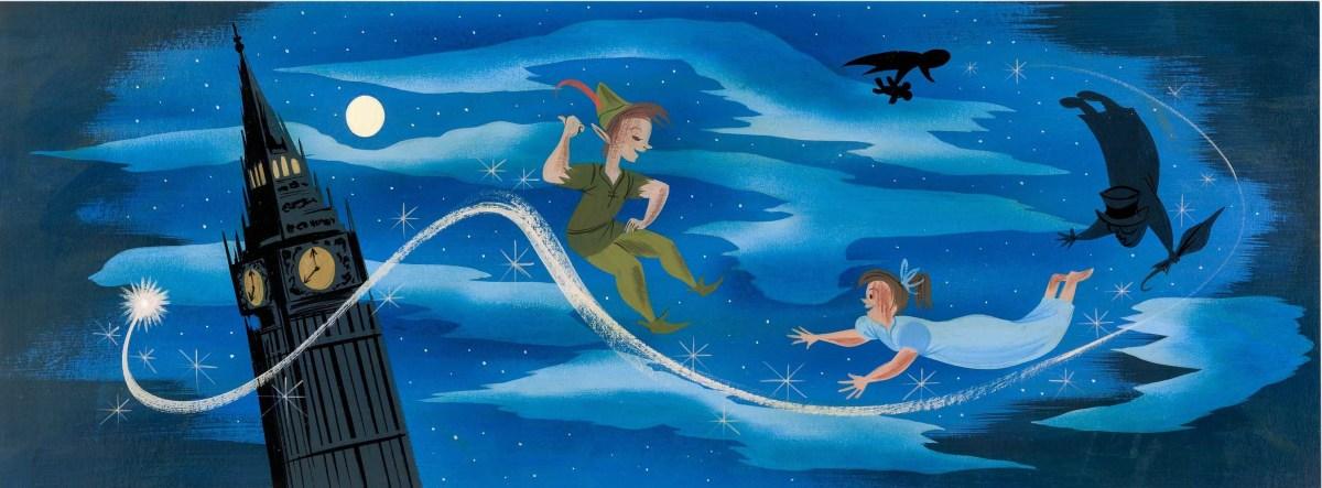 Mary Blair's Peter Pan Big Ben