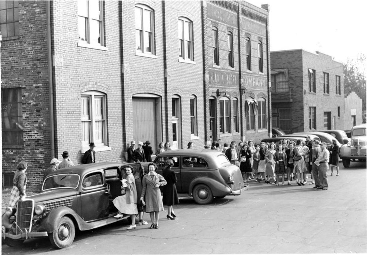 The Hi-Flier Manufacturing Co. in the 1940s