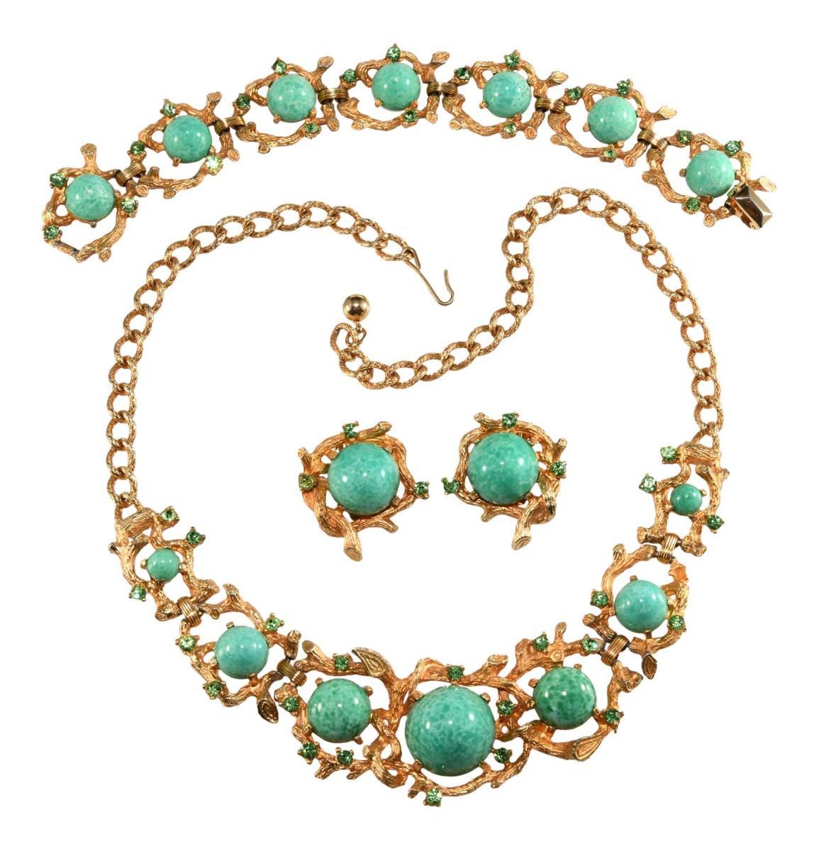 Costume jewelry Boucher design