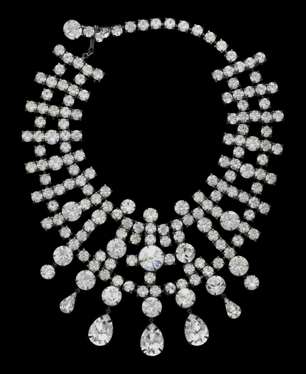 Kenneth Jay Lane rhinestone necklace