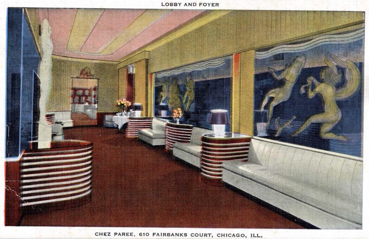 Chez Paree Lobby and Foyer