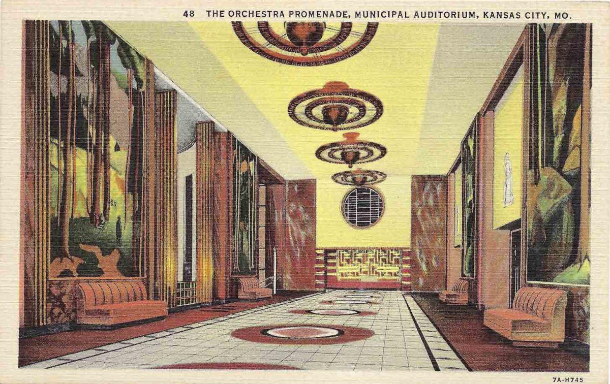 Municipal Auditorium in Kansas City